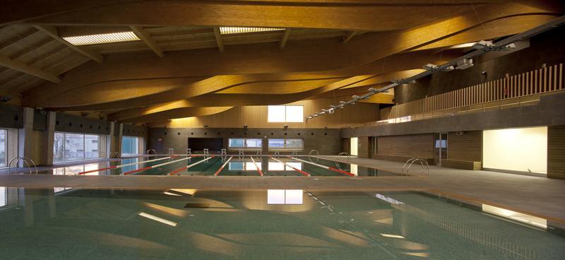 piscina municipal de colindres ricard balcells arquitecte
